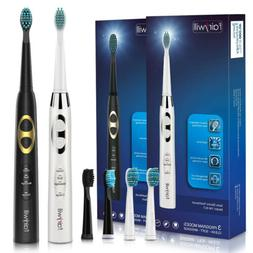 2 Pack Fairywill Sonic Electric Toothbrush Couple toothbrush