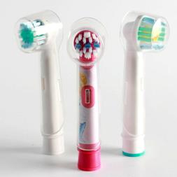 4pcs Electric Toothbrush Round Head Covers Anti Dust For Ora