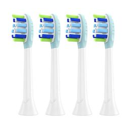 4PCS Replacement Brush Heads for Philips Sonicare Electric T