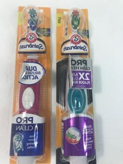 Arm and Hammer Spinbrush Tooth Brush Battery Operated Spinni