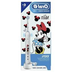 Oral-B - Kids Minnie Mouse Rechargeable Toothbrush