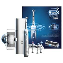 Braun Oral-B GENIUS 9000 Rechargeable Electric Toothbrush WH