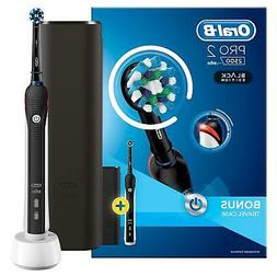 Braun Oral-B PRO2500 BLACK Electric Rechargeable Toothbrush