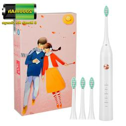 Cheap Sonic Electric Toothbrush 2000mAh Rechargeable 2 Mins