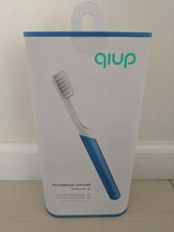 QUIP Electric Toothbrush Blue Plastic Handle, BRAND NEW!