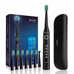 Fairywill Electric Toothbrush for Adults with 5 Modes, Smart
