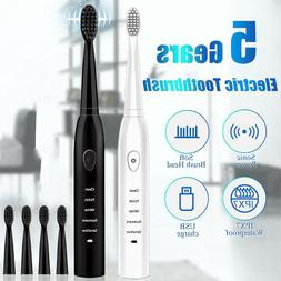 Electric Toothbrush Whitening Ultra Sonic Toothbrushes 4 Hea
