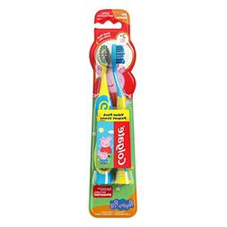 Colgate Kids Extra Soft Toothbrush with Suction Cup, Peppa P
