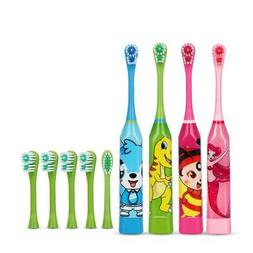 Hot Sell Children Cartoon Pattern Electric Toothbrush Double