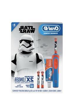 Oral-B Kid's Star Wars Electric Toothbrush Rechargeable and