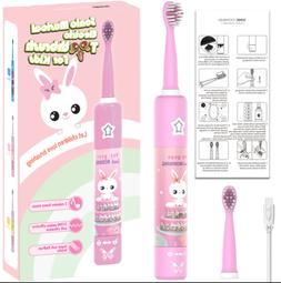 kids sonic care smart timer child electric toothbrush rechar