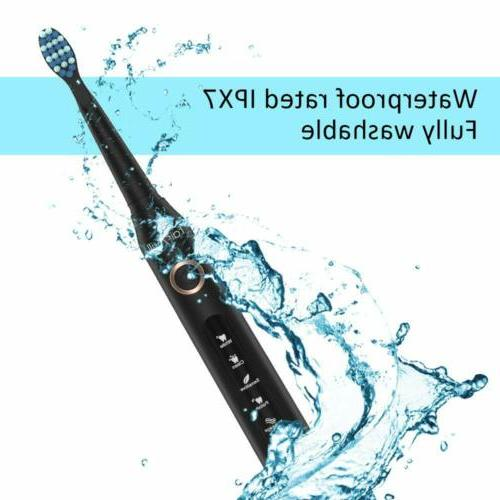 5 Modes Fairywill Sonic Electric Toothbrush Soft