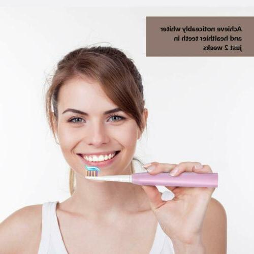 5 Modes Electric Toothbrush Rechargeable for Kids Adults and