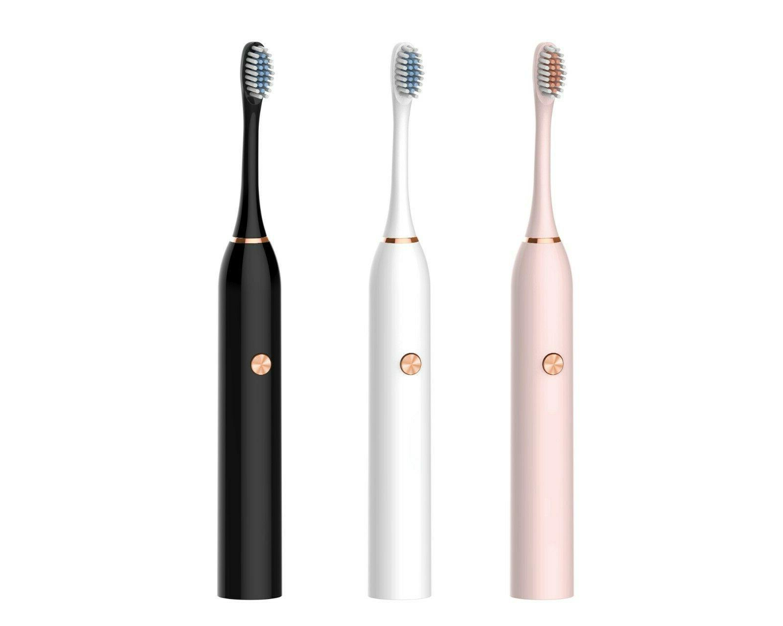 portable electric sonic toothbrush oral care battery