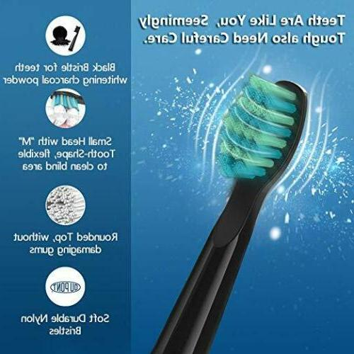 Fairywill Toothbrush Rechargeable Modes Timer