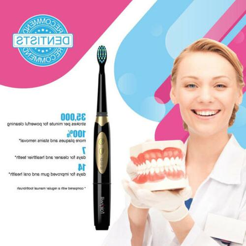 electric toothbrush with 2 aaa batteries sonic