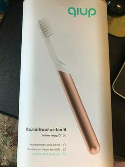 NEW & SEALED! QUIP Electric Toothbrush Sonic COPPER METAL