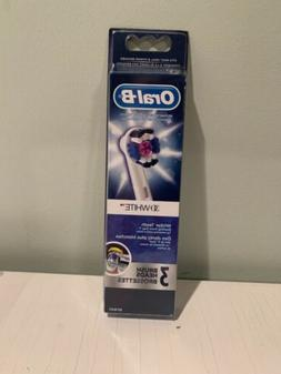 Oral-B 3D White Electric Toothbrush Replacement Brush Head,
