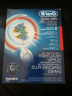 ORAL-B BRAUN PRO 5000 SMARTSERIES RECHARGEABLE TOOTHBRUSH BL