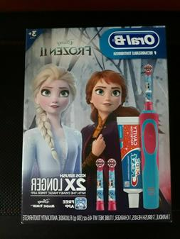 Oral-B Disney's Frozen 2 Rechargeable Electric Toothbrush Bu