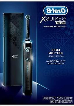 Oral-B - Genius X Luxe Rechargeable Toothbrush - Anthracite