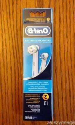 Oral-B Replacement Heads For Electric Toothbrush Ortho Care