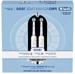Oral-B ProAdvantage 1500 Electric Rechargeable Toothbrush Po
