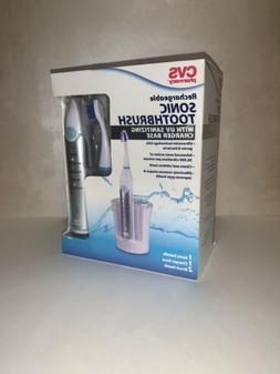 CVS Rechargeable Sonic Toothbrush with UV Sanitizing Base *N