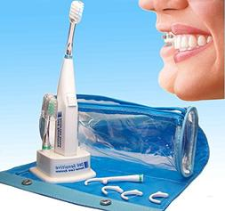 Sonic Powered Toothbrush for Cleaning Teeth with Braces