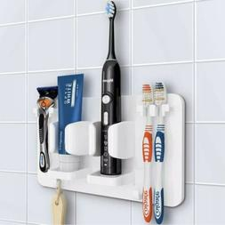 Mspan Toothbrush Razor Holder For Shower: Wall Mounted Adhes