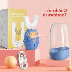 U-Type Electric Silicone Sterilization Drying Toothbrush Chi